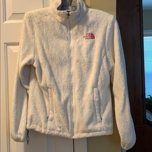 White Breast Cancer Awareness North Face